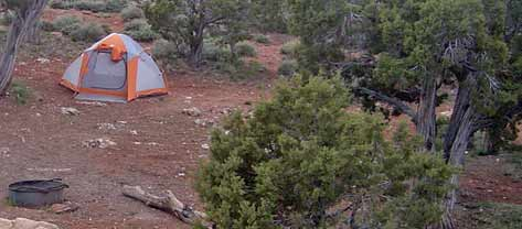 Camping and Picnic Sites in Amazing Red Rock country, Sedona
